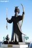 مجسمه اغوز خان